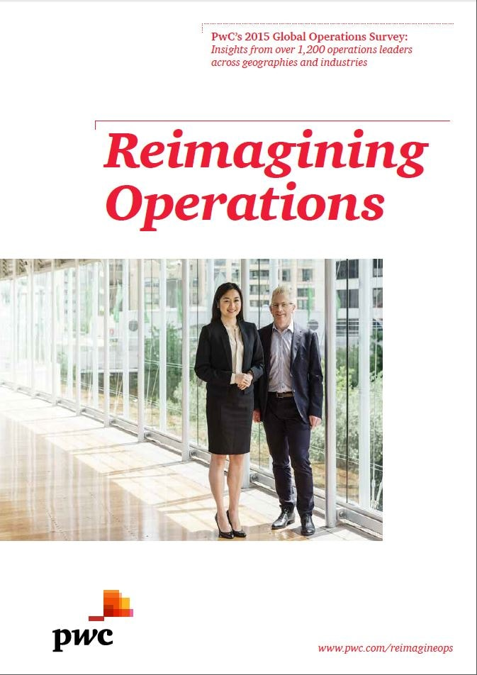 Cover der Studie Reimagining Operations