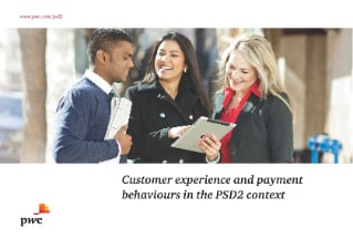 Customer experience and payment behaviours in the PSD2 context